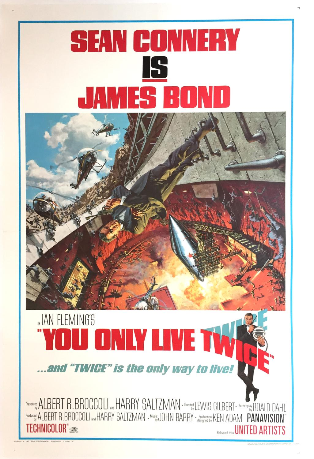 Filmposter You Only Live Twice