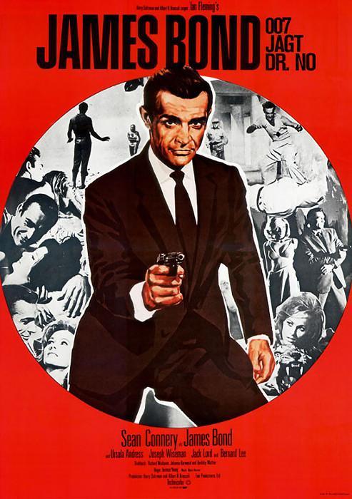 Filmplakat James Bond jagt Dr. No