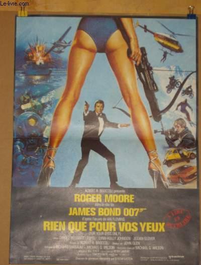 Französisches Filmplakat In toedlicher Mission