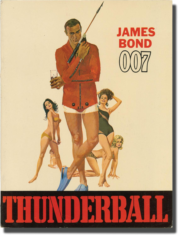 Programmheft Thunderball