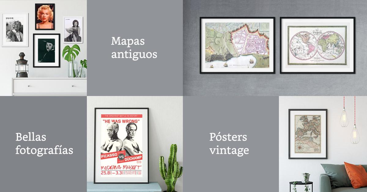 Decoración vintage - Comprar artículos de decoración online