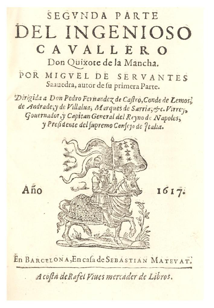 Segunda parte de Don Quijote de la Mancha