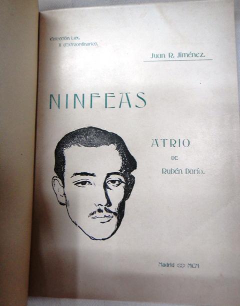 Primera edición de <em>Ninfeas</em>