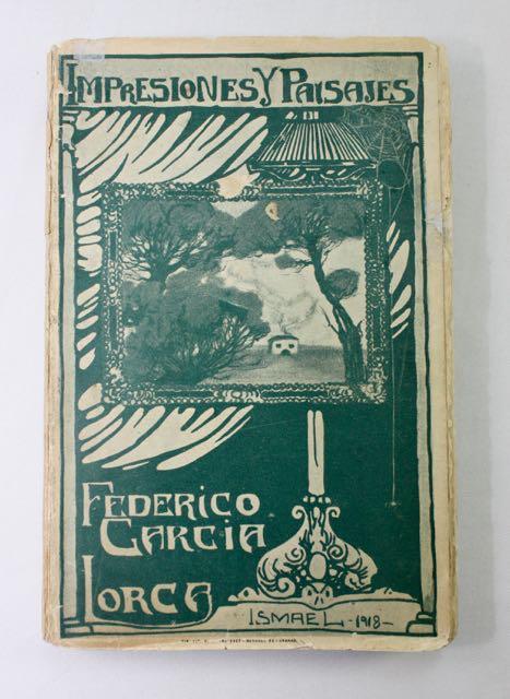 Primera edición de Impresiones y paisajes - García Lorca