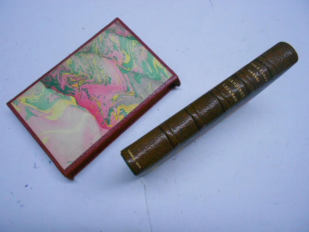 Primera edición de Jardines lejanos, de Juan Ramón Jiménez