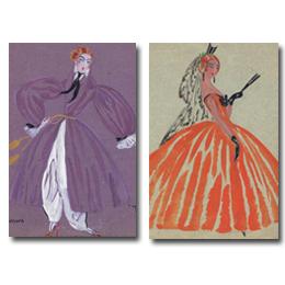 Figurines originales para La Reina Castiza