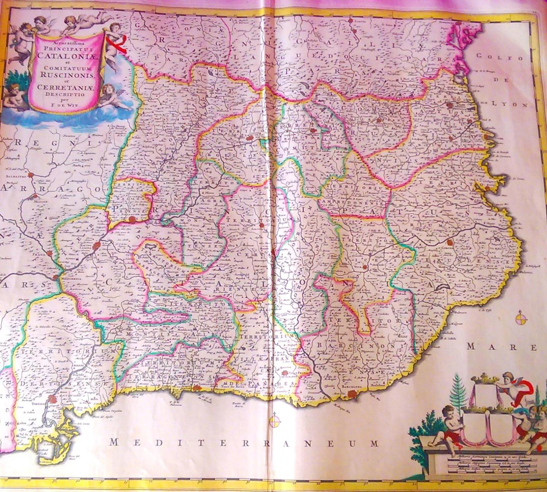 Mapa de Catalunia