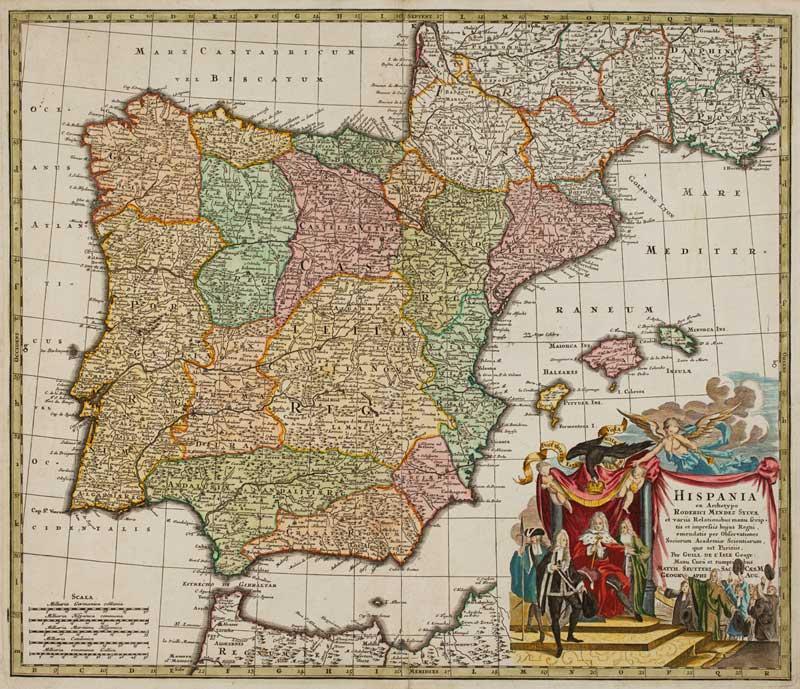 Hispania ex Archetypo Roderici Mendez Sylvæ.