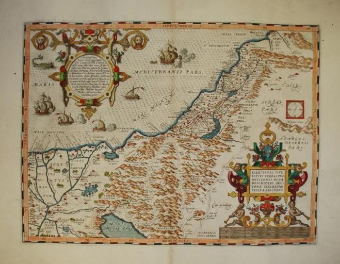 Palestina o toda la Tierra Prometida por Tileman Stella de Siena