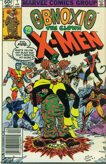 X-Men: Obnoxio the Clown #1