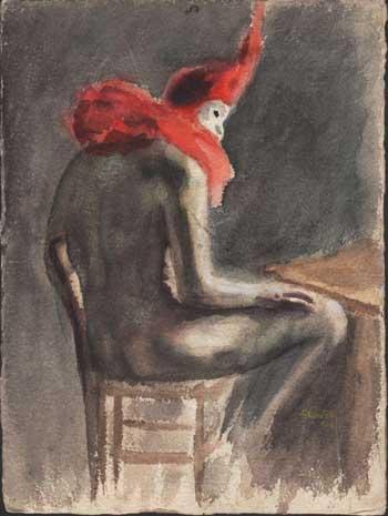 Clown Rêveur von André Foy