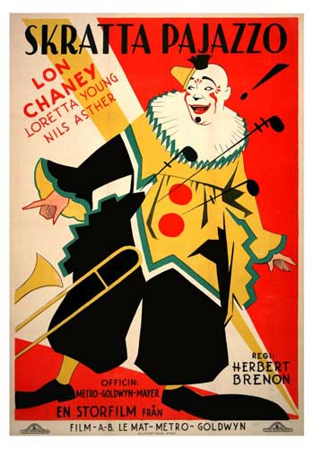 Laugh, Clown, Laugh Filmposter