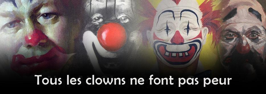 Clowns effrayant – Livres, images et photographies de clowns qui ne guarantissent pas de vous faire pas rire