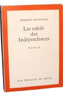 Littérature africaine, Kourouma, Les soleils des indépendances
