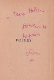 Edition originale de Poèmes de Jean Cocteau