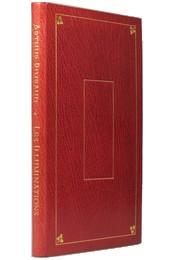 Edition originale des poèmes d'Arthur Rimbaud