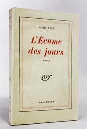 Edition originale de Chansons de L'écume des jours