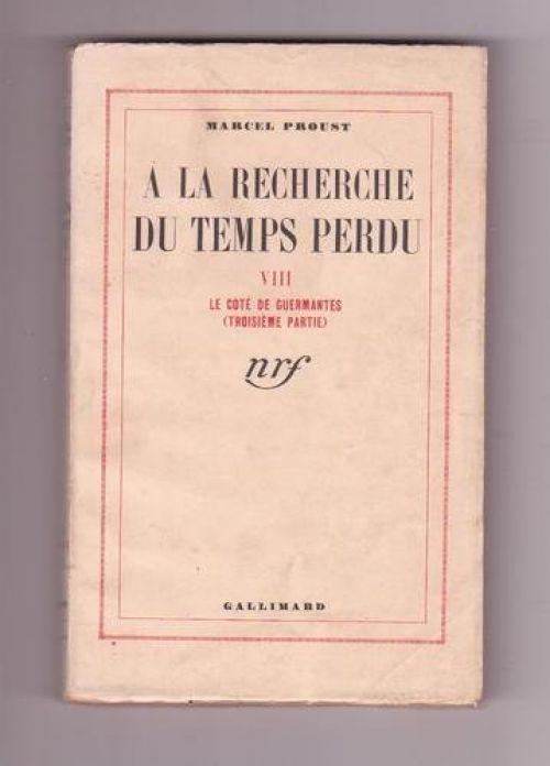 A la recherche du temps perdu par Marcel Proust