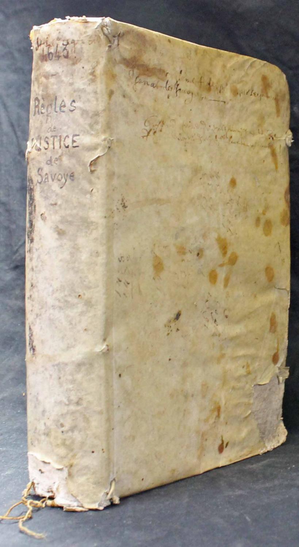 Stil et règlement sur le faict de la justice et instruction des procez, dressé par le souverain Sénat de Savoye