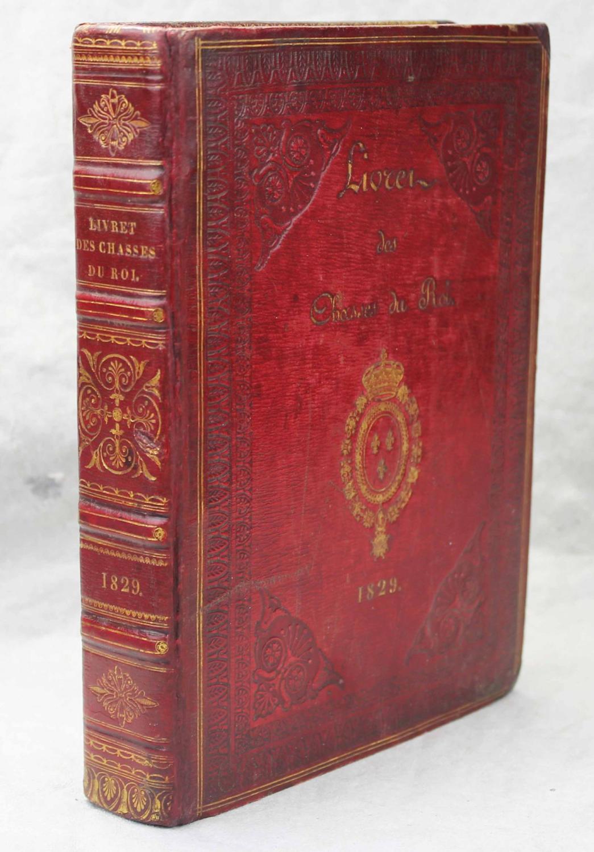 Livret des chasses du Roi pour 1829