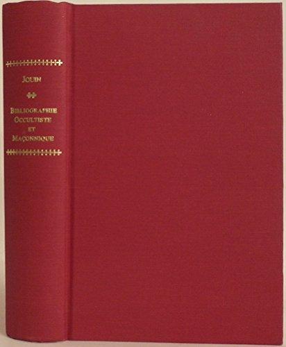 Bibliographie Occultiste et Maconnique