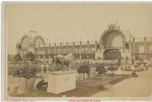 Palais du Champ de Mars - un des lieux phares de l'exposition