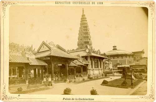 Palais de Cochinchine, le Vietnam était une colonie française de 1862 à 1954.
