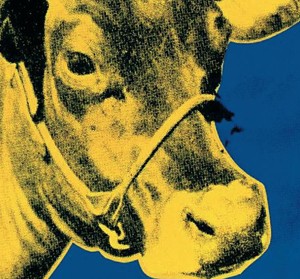 Andy Warhol : Cow