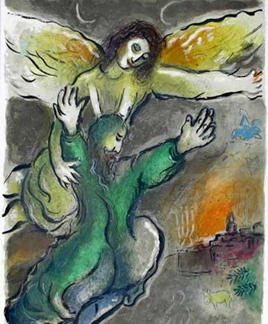 Moïse et l'Ange - Récit de l'Exode