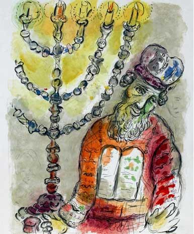 Moïse au candélabre - Récit de l'Exode