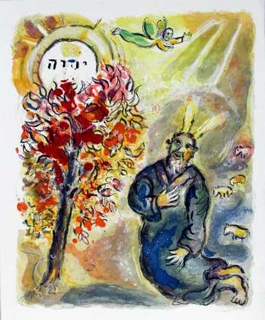 Moïse et le buisson ardent - Récit de l'Exode