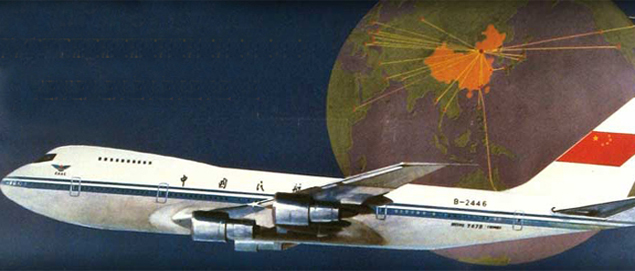 Affiches vintage de compagnie aériennes