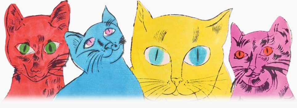 Les chats d'Andy Warhol : 15 Minutes de notoriété féline
