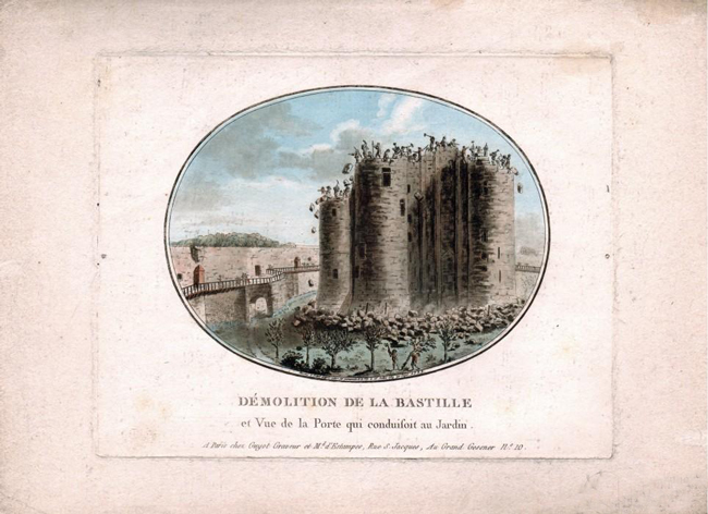 Démolition de la Bastille