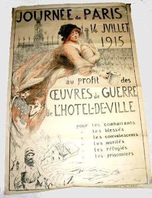 Journée de Paris, 14 juillet 1915