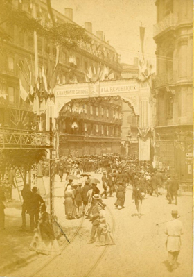 Lyon, 14 Juillet 1882