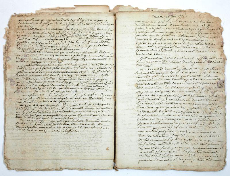 Journal manuscrit non publié