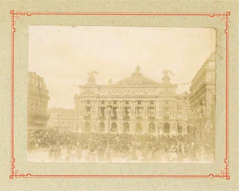 Le 14 juillet 1900, Paris