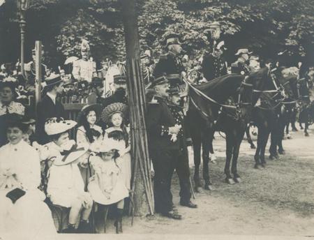 Le Général de Lacroix pour la revue du 14 juillet 1901