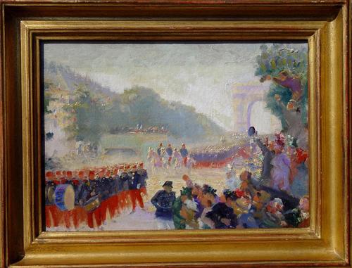 Peinture 14 juillet, 1900