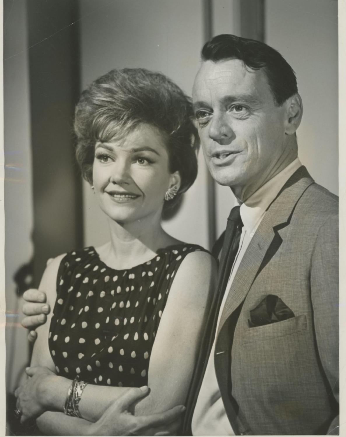 Anne Baxter et Harry Townes