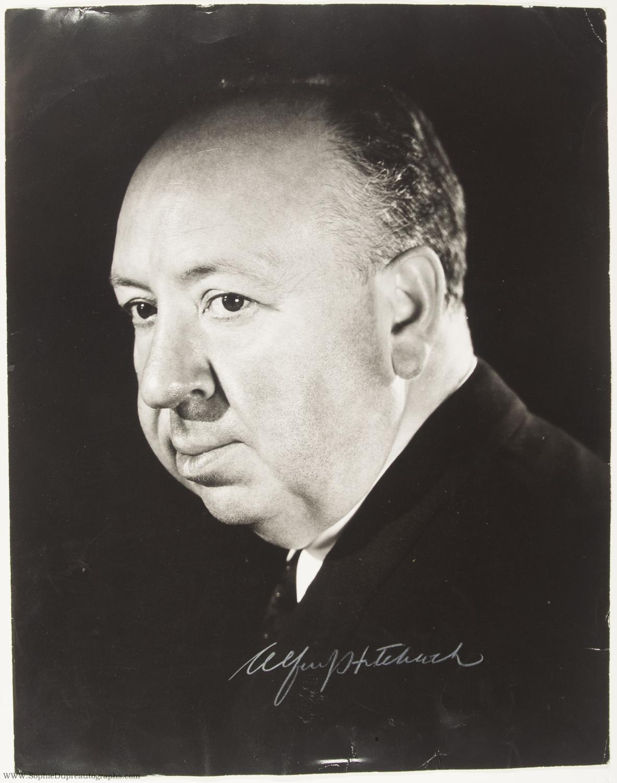 Portrait d'Aflred Hitchcock