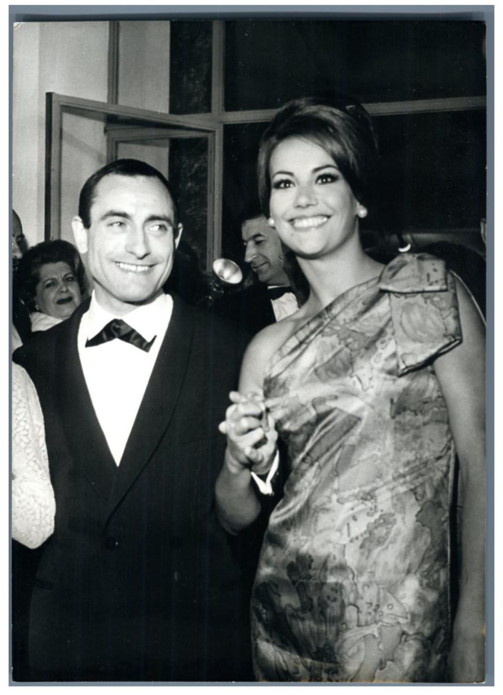 Pierre Étaix et Claudine Auger
