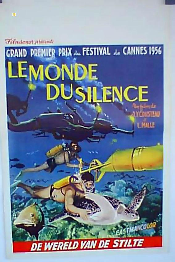 Le monde du silence de Jean-Yves Cousteau (1956)