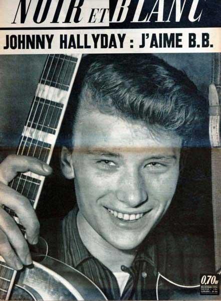 Johnny Hallyday: J'aime B.Bardot