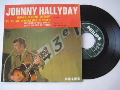 Vinyle Vintage de Johnny Hallyday