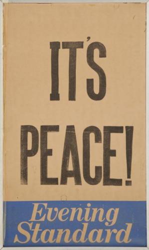 Poster It's Peace! dédicacé