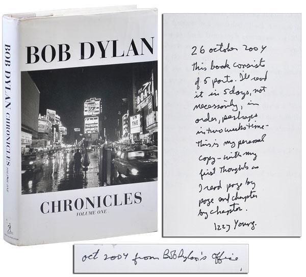 Chronicles signé