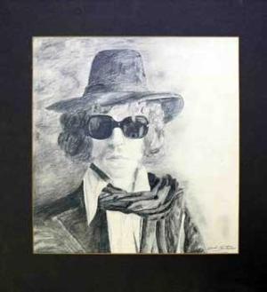 Portrait de Bob Dylan