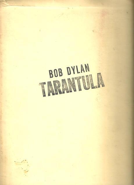 Tarantula, croquis de l'édition originale